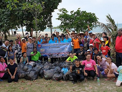 Our earth, is Our responsibility - PD Beach Cleaning - 13.04.19